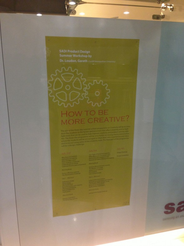 SADI Creativity Poster